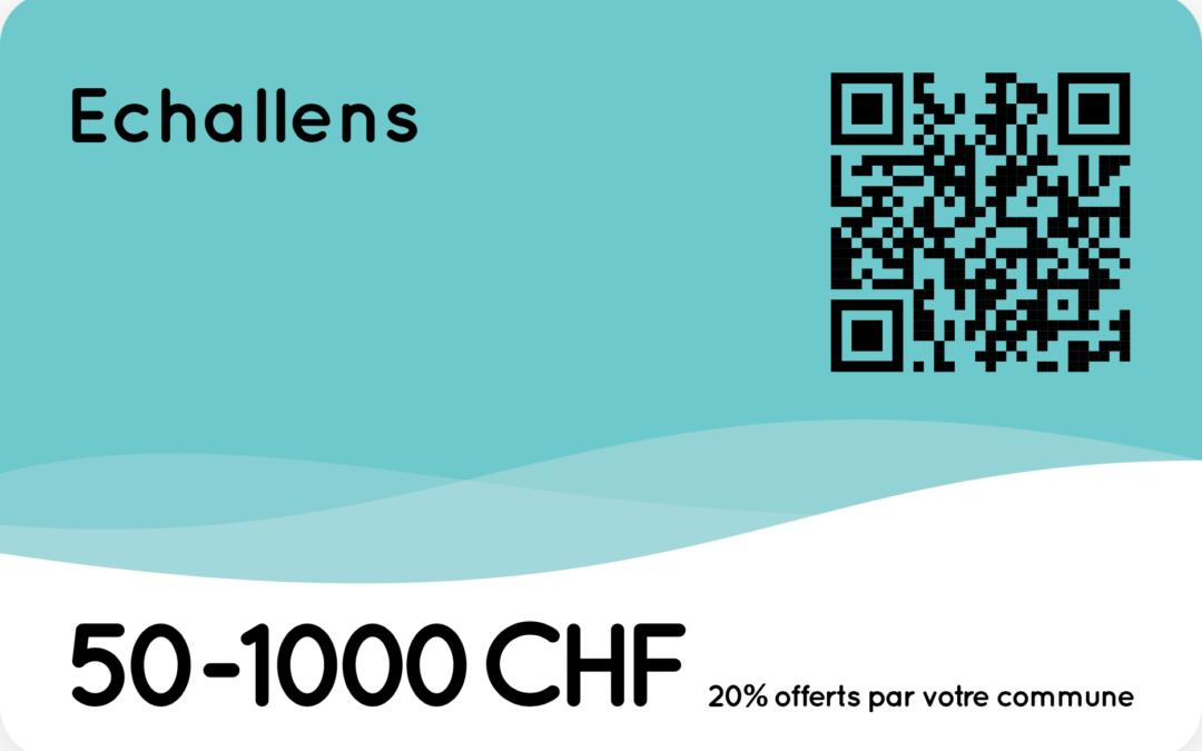 Soutenons les commerces et entreprises d'Echallens – 2ème action